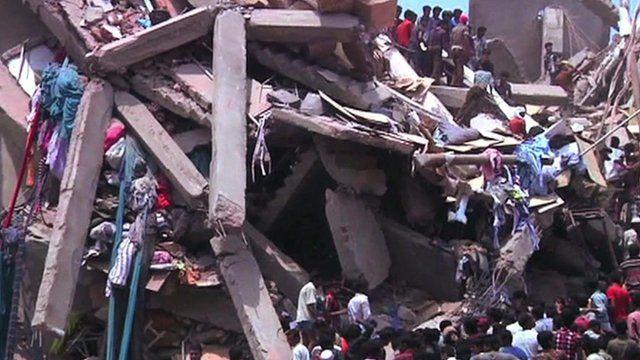 Rana Plaza building collapse