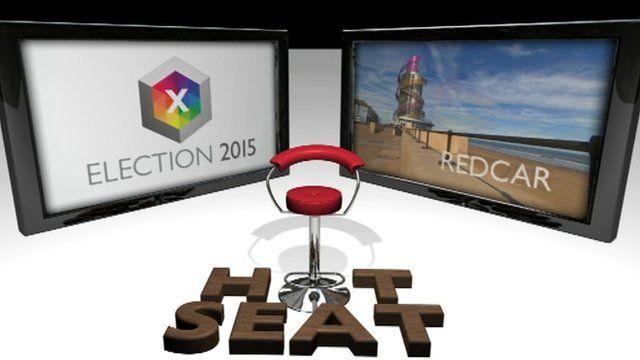 Redcar Hot seat logo
