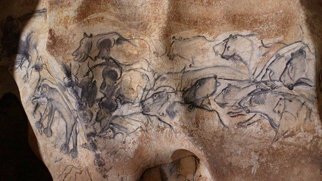 Cave drawings