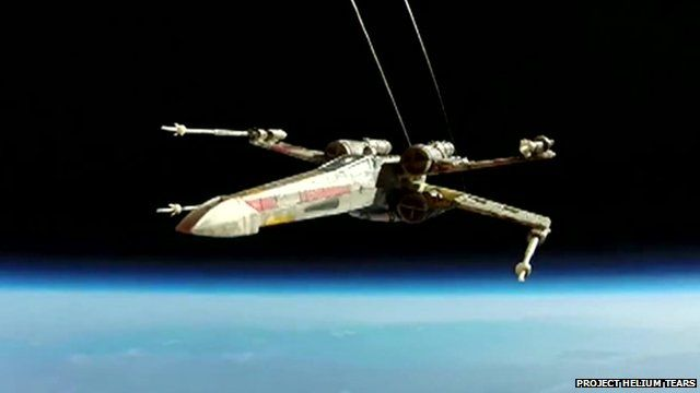 X-wing weather balloon