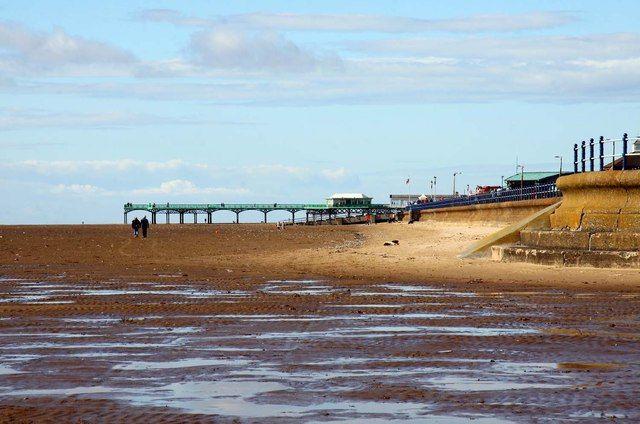 Lytham St Annes beach, courtesy of Steve Daniels