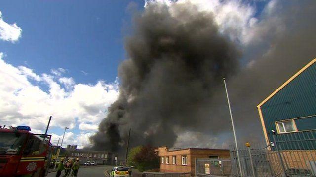 Oldbury fire