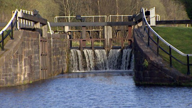 Canal in Glasgow north west constituency