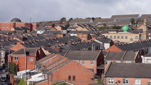 Blackburn skyline
