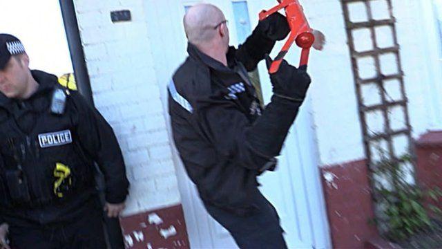Police raid