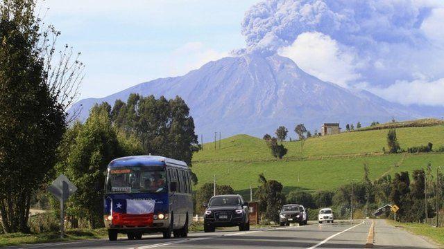 Chile's Calbuco volcano