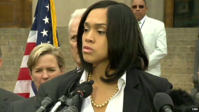 Maryland State Attorney Marilyn Mosby