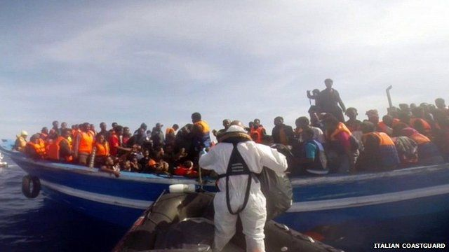 Italian coastguard video