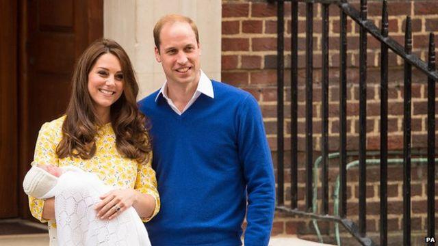 Royal baby: London gun salutes mark birth of princess