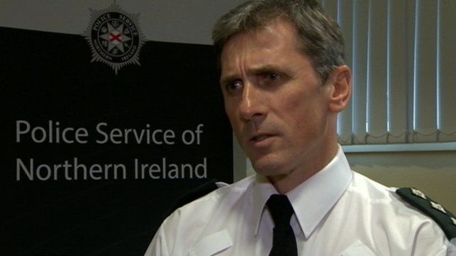 """PSNI Chief Inspector Tony Callaghan said the bombs were """"clearly designed to kill or seriously injure""""."""