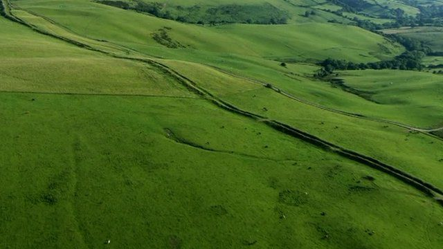 Excavation works at Offa's Dyke were investigated by police in 2013