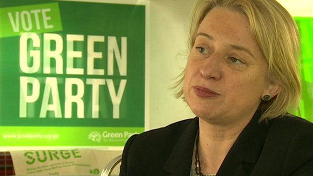 Leader of the Green Party in England and Wales, Natalie Bennett