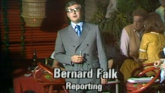 BBC reporter Bernard Falk reports from a discotheque on election night in 1970 - 18 June 1970