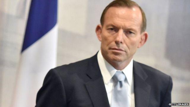 Australia's PM Tony Abbott dismisses gay partner 'snub'