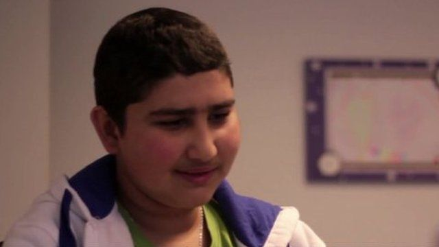 Cancer patient Matteo