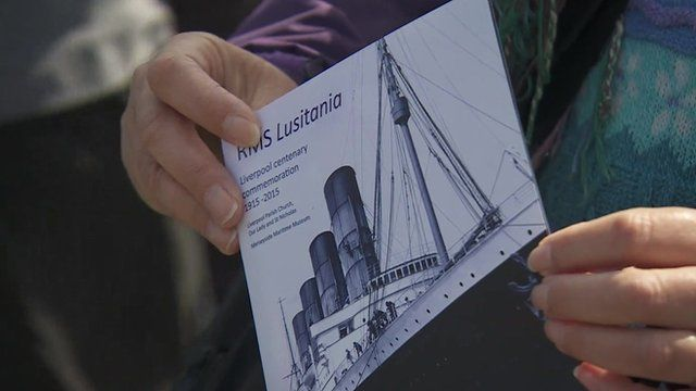 Lusitania commemoration order of service
