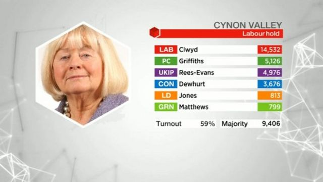 Cynon Valley results