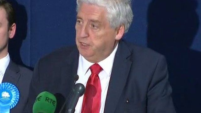 """SDLP leader Alasdair McDonnell has said he feels """"proud, honoured and humbled"""" at being re-elected as MP"""
