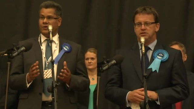 Reading's two returning Conservative MPs Alok Sharma and Rob Wilson