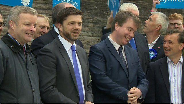Conservative candidate Craig Williams
