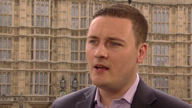 New Labour MP for Ilford North, Wes Streeting, outside Houses of Parliament