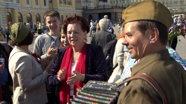 VE Day celebrations in Moscow