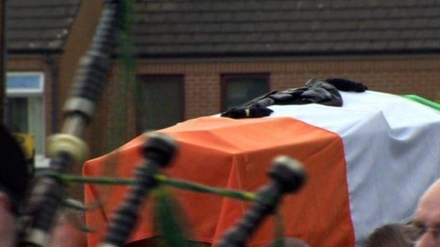 Gerard Jock Davison's funeral