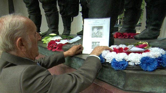 Michael McGrory visits the memorial to members of RAF Bomber Command in London
