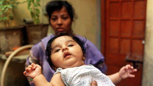 India's billionth baby