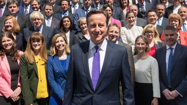 Media Player David Cameron Surrounded By New MPs