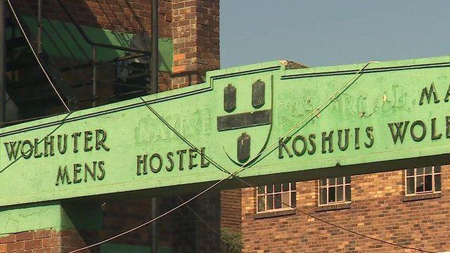 A hostel in Johannesburg