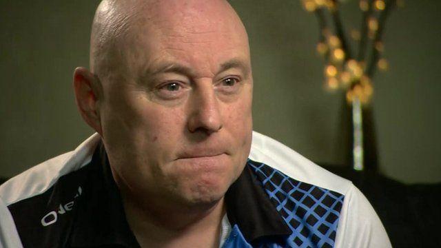 John McElroy, stroke survivor