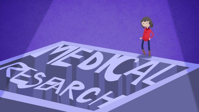 Medical research animation