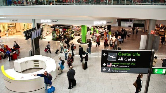 The number of Northern Ireland passengers using Dublin Airport has reached a record high