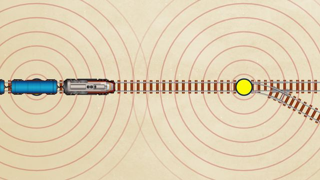 Illustration of Positive Train Control system