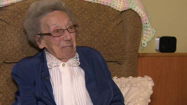 Sheffields Winnie Blagden Gets Scores Of 100th Birthday Cards