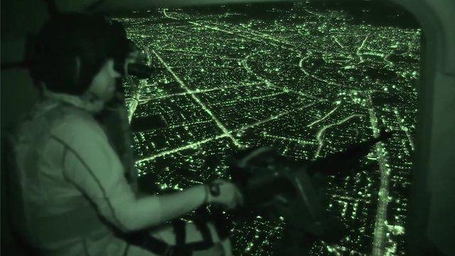Soldier on flight