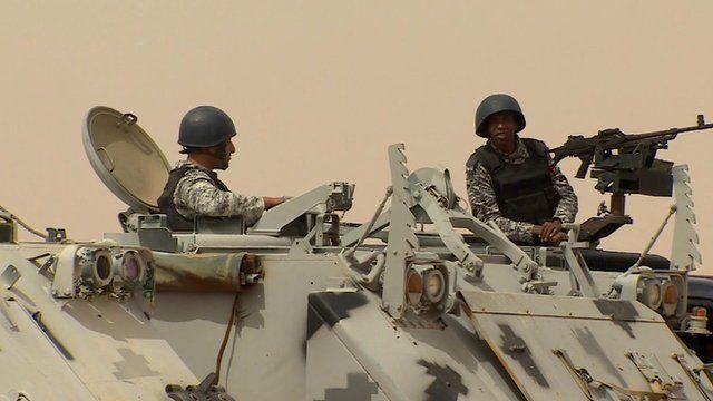 Jordan soldiers