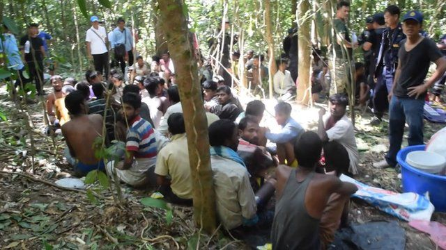 Bangladeshi migrants rescued from traffickers in Thailand