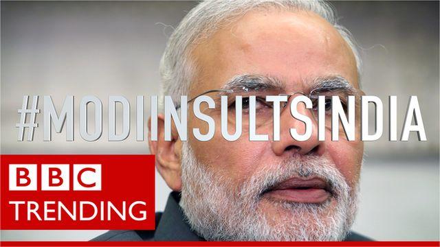 Narendra Modi #ModiInsultsIndia