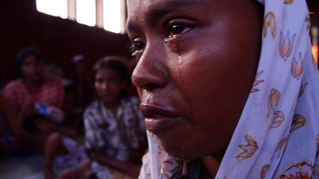 Kasuma Hatu, a Rohingya Muslim refugee