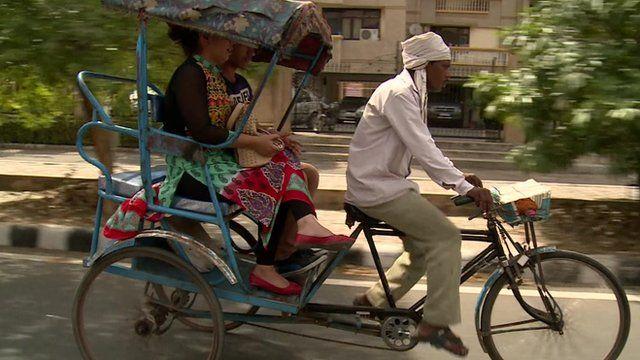 Rickshaw in Delhi