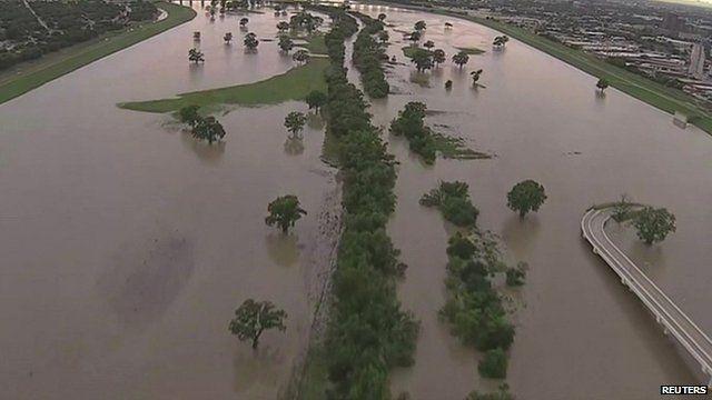 Flooding in Texas, USA