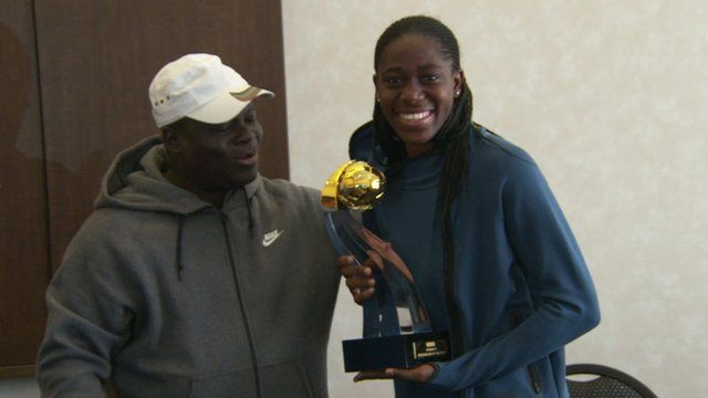 Asisat Oshoala, BBC Women's Footballer of the Year