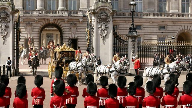 The Queen and the Duke of Edinburgh leave Buckingham Palace