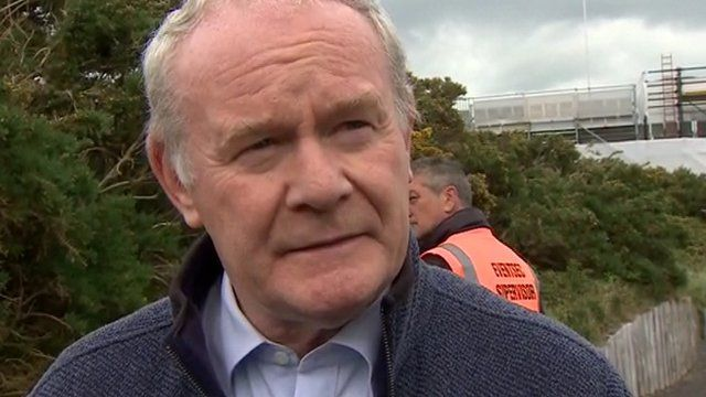 "Martin McGuinness warned it would be a ""huge mistake"" if Westminster took over welfare powers"