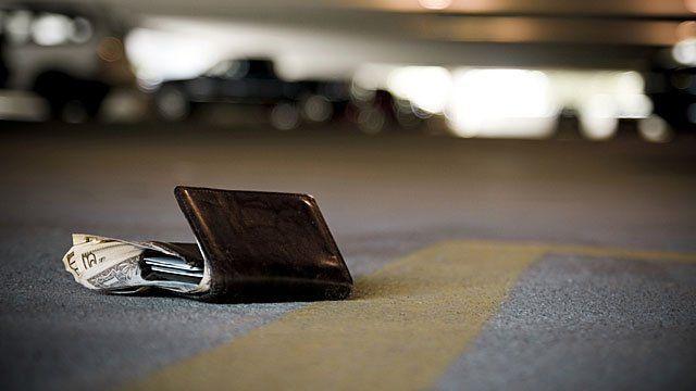 A lost wallet
