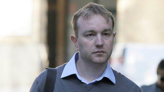 Former City Trader Tom Hayes arrives at Southwark Crown Court