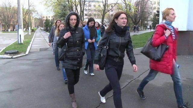 Women recruits