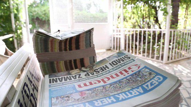 Turkish newspaper